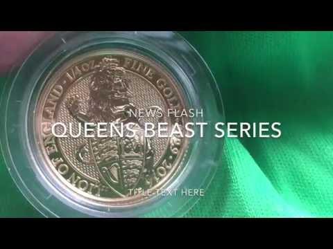 News Alert - The Royal Mint Queens Beast Series - Next Coin