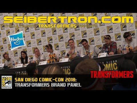 Hasbro's Transformers Brand Panel at SDCC 2018