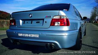 Mercedes E55 AMG W210 vs BMW M5 E39 vs Audi RS6 B5 (C5) - Acceleration 0-270km/h & Exhaust Sound