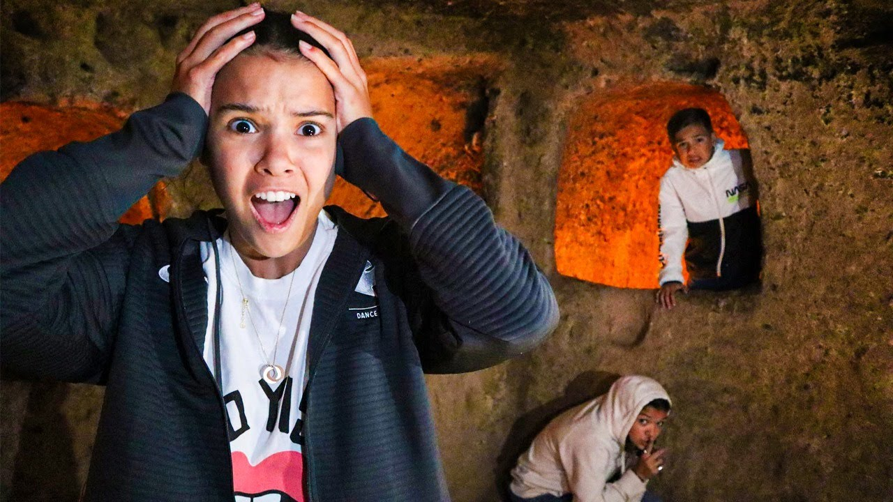 Living UNDERGROUND For 24 HOURS! Last to Leave wins BIG!
