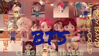 Gambar cover The Cutest Boy Band in the World | BTS Cute Characters | BTS Character Trailer | Ekim World