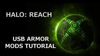 USB MOD - Halo Reach Max Rank + All Armor Unlocked