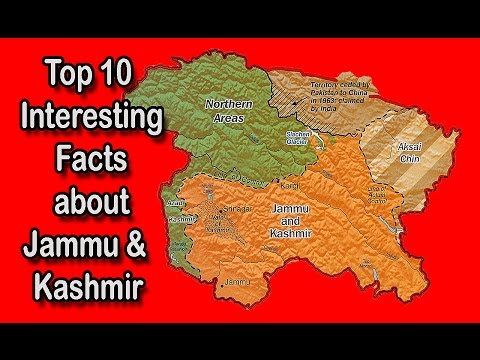 Top 10 Interesting Facts about Jammu & Kashmir