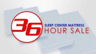 36 Hour Sale Sleep Center Mattress St Louis