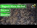 Ringneck,Alexandrine Gray parrot Winter Mix Feed | Urdu/Hindi