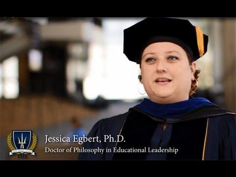 Jessica Egbert, Ph.D. in Educational Leadership