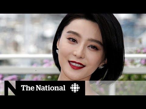 Movie star Fan Bingbing's disappearance raises questions
