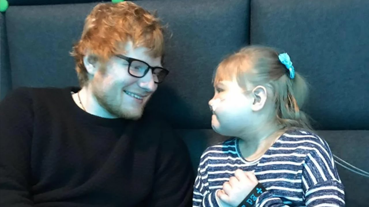 ed sheeran performs private concert for sick fan at o2. Black Bedroom Furniture Sets. Home Design Ideas