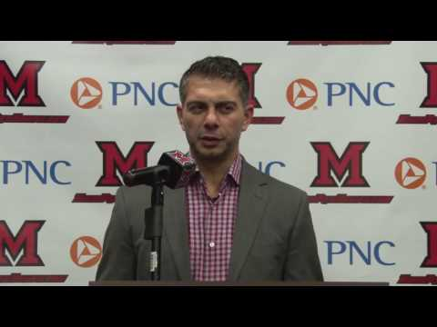 Miami Men's Ice Hock Weekly Press Conference (Omaha Week) - 11/8/2016