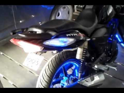 Apache Rtr 180 Led Mod India Mizoram Mp4 Youtube