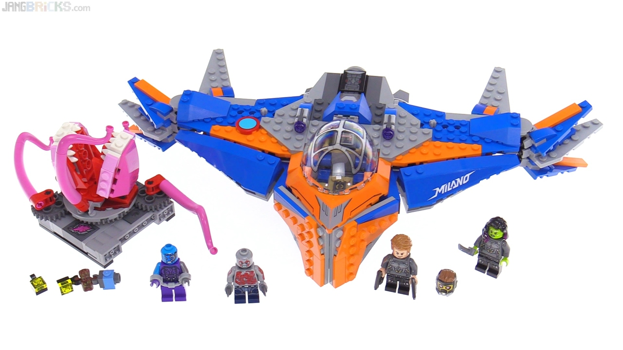 LEGO Marvel Guardians of the Galaxy vol 2 Milano vs  Abilisk review! 76081
