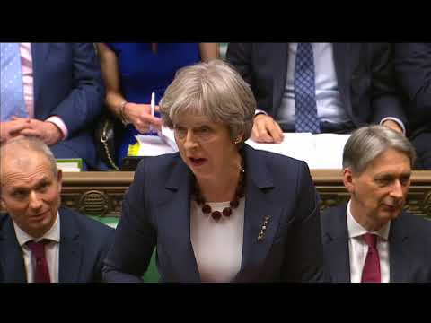 Prime Minister\'s Questions: 14 March 2018