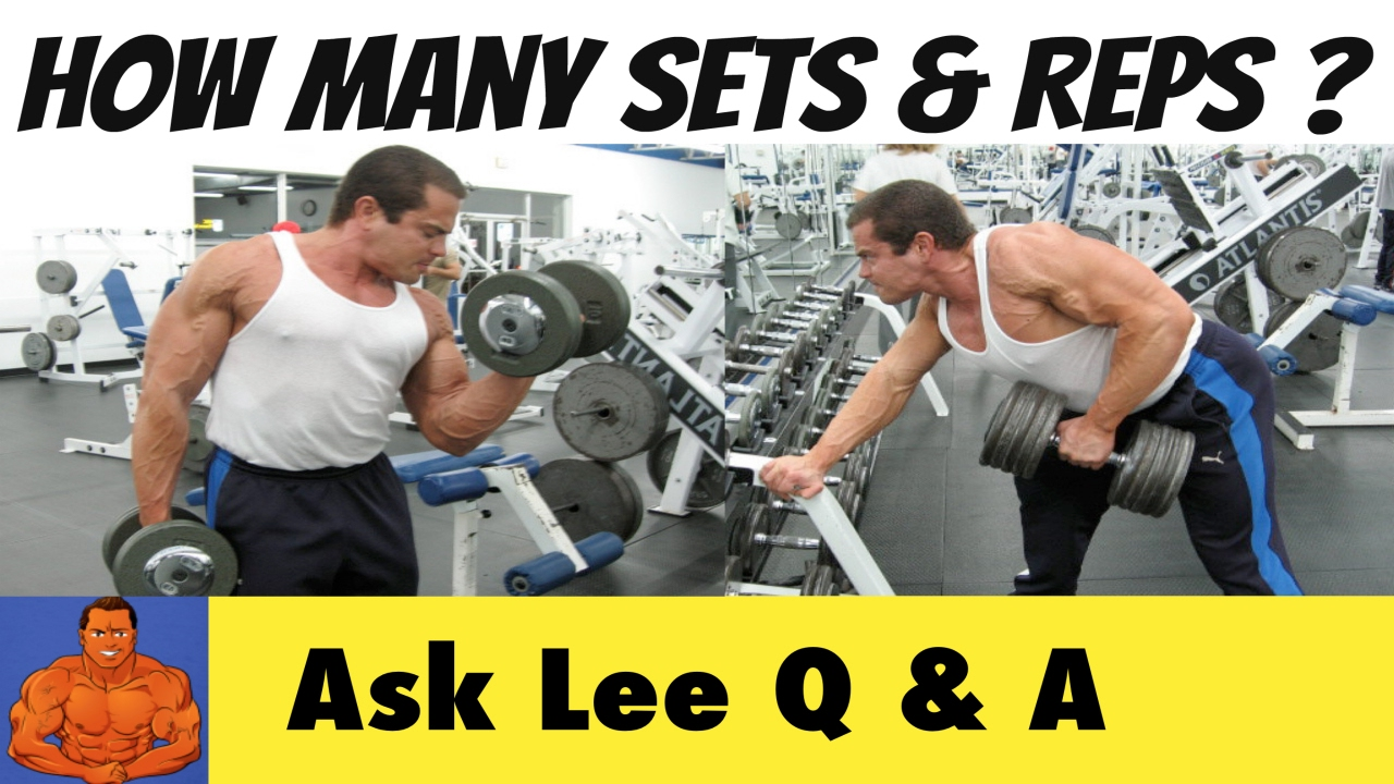 How Many Sets and Reps Should You Do When Lifting Weights?