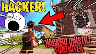 HACKERS WHO NEARLY DESTROYED THE FORTNITE!! Amazing