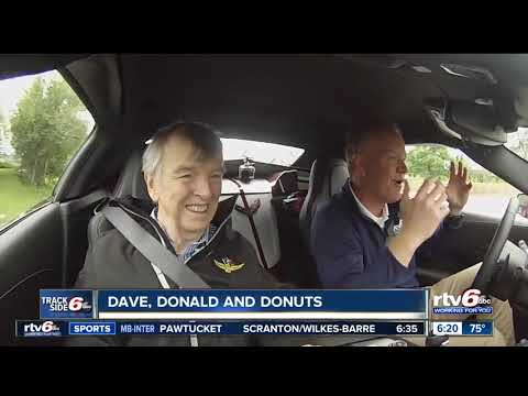 Dave, Donald And Donuts: Dave Furst In Indy 500 Corvette