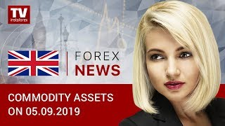 InstaForex tv news: 05.09.2019: Oil steady after 4% rise yesterday (Brent, USD, RUB)