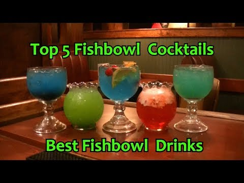 Top 5 Fishbowl Cocktails Best Tropical Fishbowl Drinks