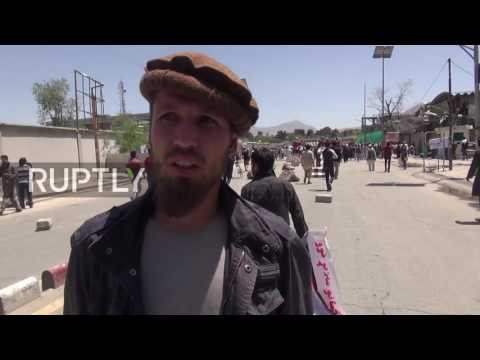 Afghanistan: At least 5 dead in protest at site of Kabul blast