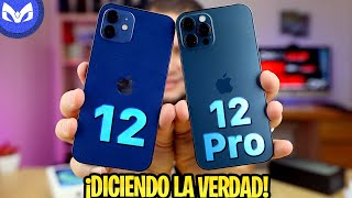 UNBOXING iPhone 12 VS iPhone 12 Pro AZUL - El iPhone REPETIDO!!!!!!!