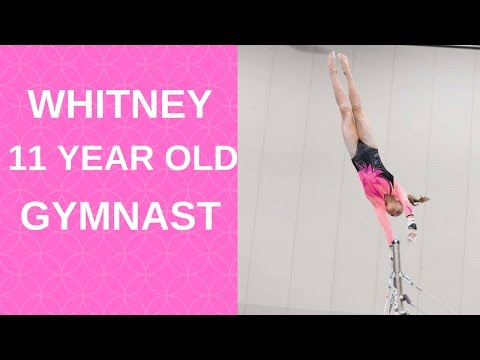Whitney amazing gymnast!