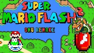 Super Mario Flash 2: SMW Remake (2021) / Complete Playthrough