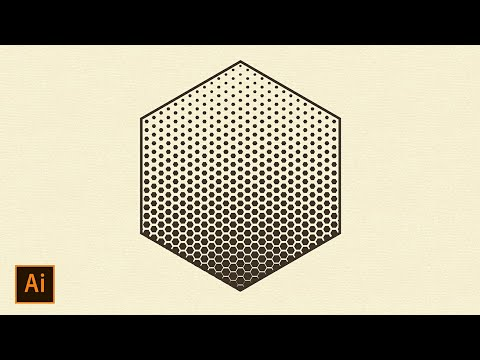Geometric Halftone Tutorial | Adobe Illustrator