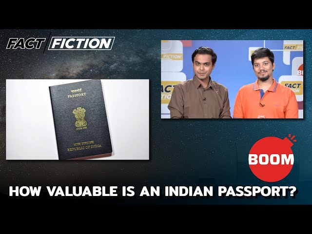 How Valuable Is An Indian Passport?