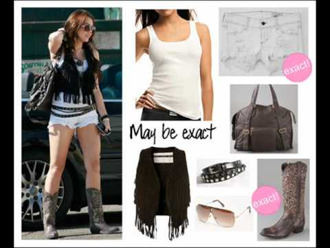 Miley Cyrus Outfits Part2˙·٠•★