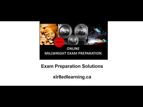 Millwright Exam Test Preparation Red Seal YouTube