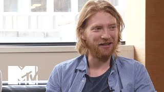 Domhnall Gleeson Describes Meeting His 'Star Wars' Co-Star For The First Time | MTV News