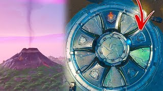 Fortnite FIRST RUNE Activated + Volcano Smoking (Fortnite Season 8 Loot Lake Event)