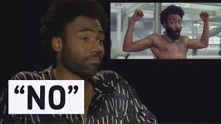 donald glover doesnt want to explain this is america music video