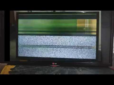 """LG LED TV  32""""  32LN5100 Horizontal Lines Problem"""