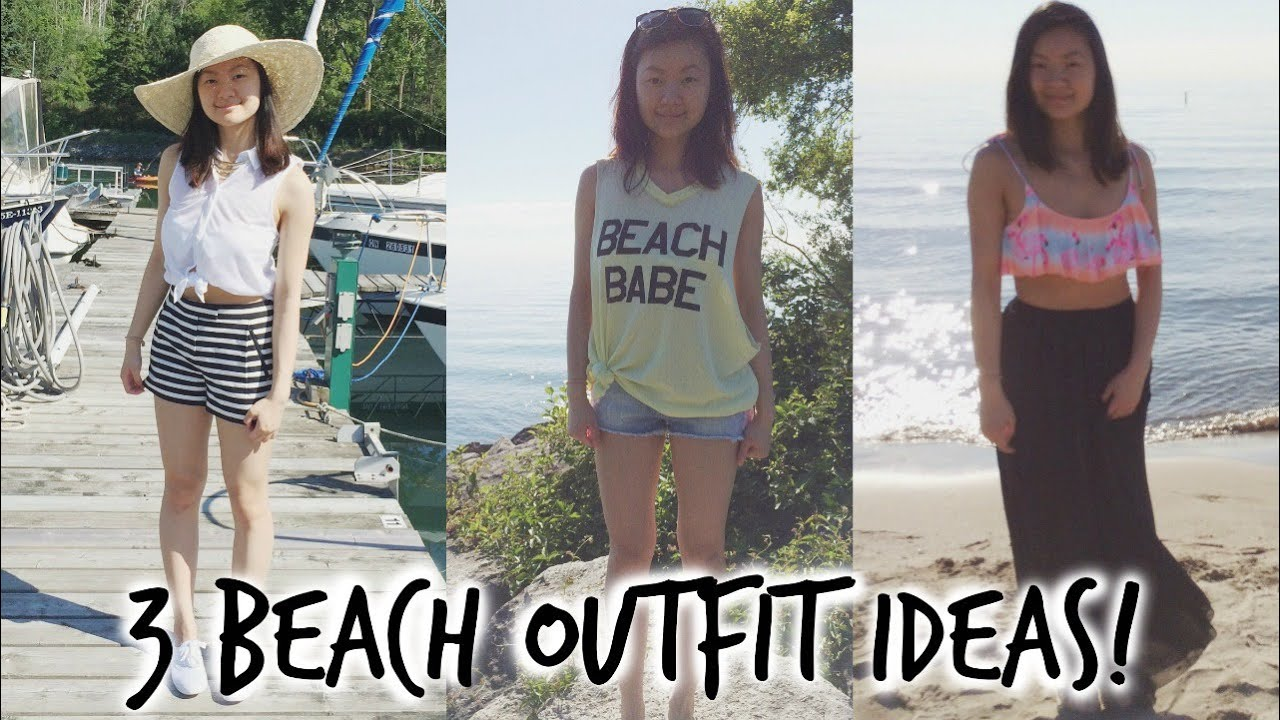 WHAT TO WEAR THE BEACH OUTFIT IDEAS