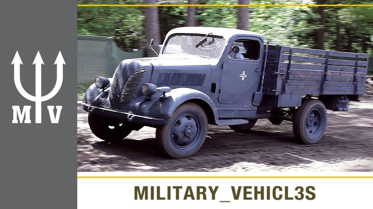 WW2 German Trucks