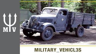 Nazi German WW2 Trucks