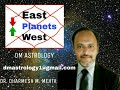 Easterly & Westerly Planets division in Astrology by Dr Dharmesh Mehta