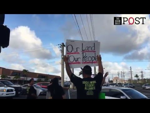 Peace rally opposing CLTC commercial leasing | The Guam Daily Post