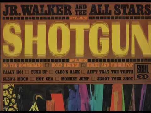 JR WALKER & THE ALL STARS - SHOUT YOUR SHOT - LP SHOTGUN - SOUL SL 701