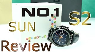 No.1 Sun S2 - Cheap Round Chinese Smartwatch ! - IP 67 Waterproof Android & IOS Smartwatch ! [4K]