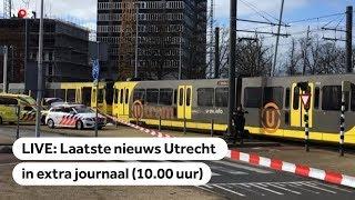 LIVE: Extra journaal na schoten in Utrecht