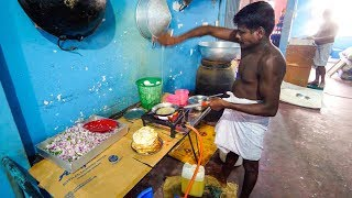 Sri Lankan Food - SPICY OMELET CURRY + Exotic Fruit in Weligama, Sri Lanka! thumbnail