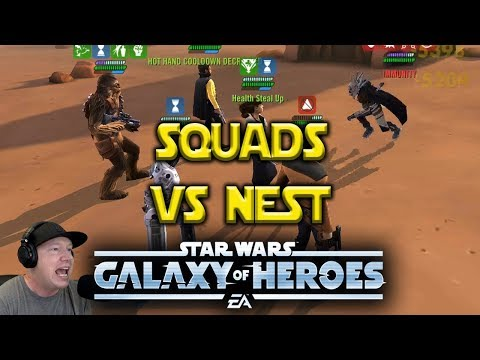Can This Squad Beat Nest? Star Wars: Galaxy Of Heroes - SWGOH