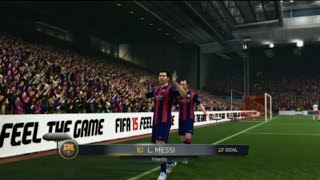 FIFA 15 DEMO [PS3] - FC BARCELONA - CHELSEA - FULL HD 1080 - GAMEPLAY