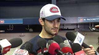 Therrien & Canadiens players react to Price
