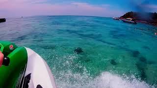 Тайланд Паттая Остров Ко Лан Пляж обезьян