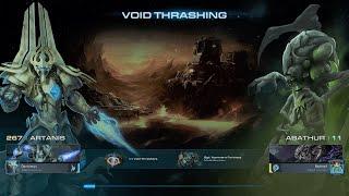 StarCraft II Normal ARTHANIS COOP ABATHUR Void Thrashing