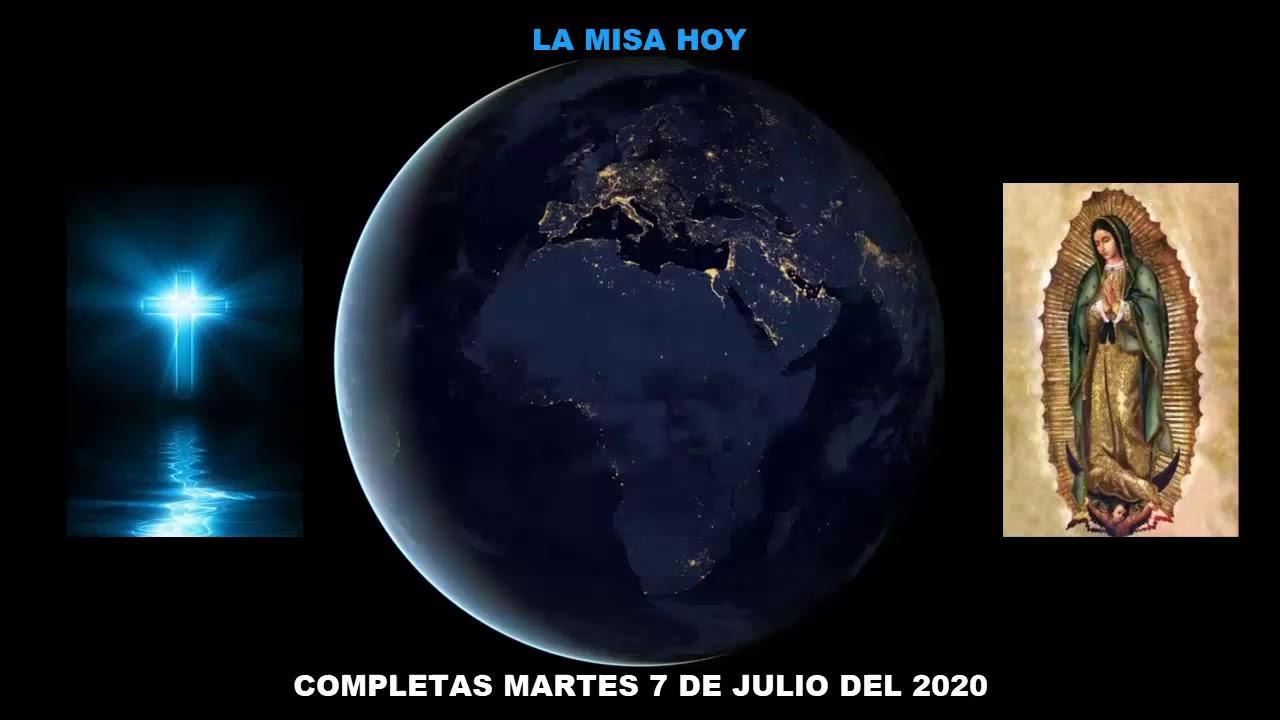 COMPLETAS MARTES 7 DE JULIO DEL 2020