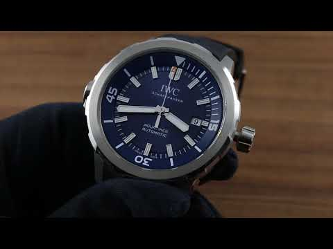 IWC Aquatimer Automatic Edition Expedition Jacques Yves Cousteau Functions and Care