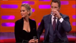 """Jennifer Lawrence """"Butt Scratchin' """" (Graham Norton Show) Dec 2nd 2016"""